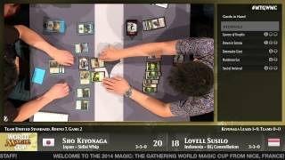 World Magic Cup 2014 Round 7 (Unified Standard): Japan vs. Indonesia