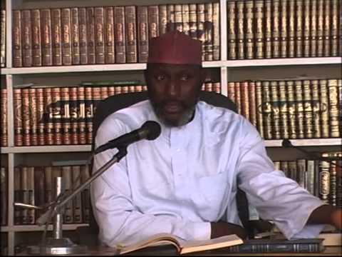 Sheikh Awwal Albany Zaria(Tafsir Ibnu Khaseer 8)