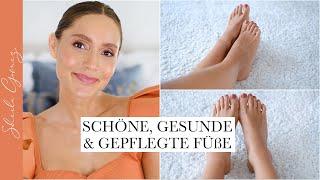 Schöne, gepflegte & gesunde Füße   Fußpflege Tipps   Sommerfüße   Sheila Gomez