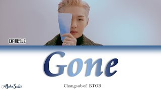 Lee Changsub [이창섭] BTOB [비투비] - Gone 가사/Lyrics [Han|Rom|Eng]