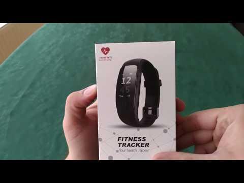 Fitnessarmband  IP67 Wasserdicht Sport Fitness Tracker mit Herzfrequenz