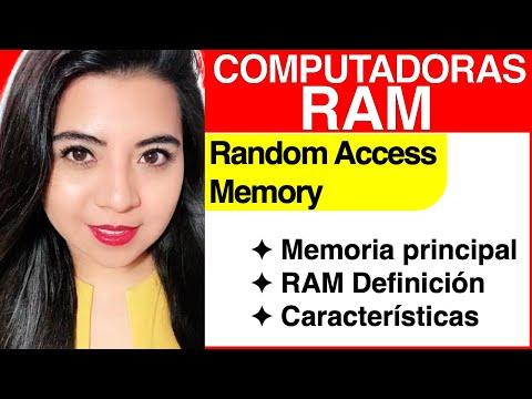 Computadoras #8 - RAM (Memoria Principal)