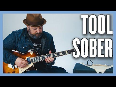 Tool Sober Guitar Lesson + Tutorial