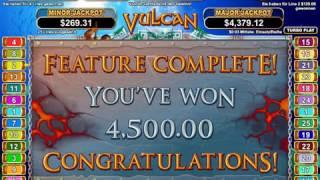 Vulcan Slot (RTG) - Freespins With 500x Multipler - Ultra Big Win - 6000x Bet