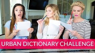 Urban Dictionary Challenge | The Mom's View