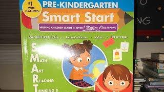 Evan Moor Pre-Kindergarten Smart Start Workbook  [Flip-Through]