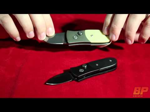 Schrade Scaly Black Automatic Knife - Satin Plain