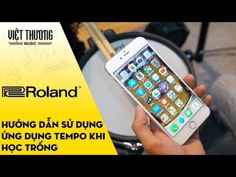 Giới thiệu ứng dụng Tempo và HD ứng dụng bài nhạc vào học trống