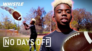 Future Football SUPERSTARS 💪 | No Days Off Ft. Bunchie Young