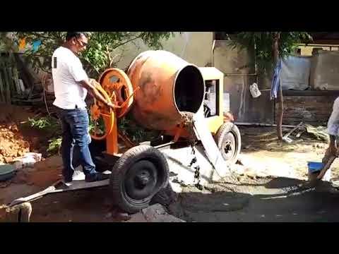 Cement Concrete Mixer in Jodhpur, सीमेंट