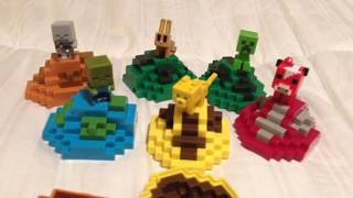 Minecraft Mondays! Mob Spawn Biome Eggs! Set review by Toy Insanity!