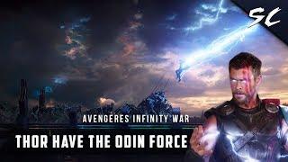 Odin Takes Thors Powerbanishment Scene In Hindi Thor Movie Best