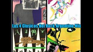 Los 4 Discos Clasicos Del Rock Argentino Mix- Soda,Virus,Fabulosos,Abuelos