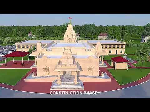 Triad Hindu Temple - New Temple Proposed Look