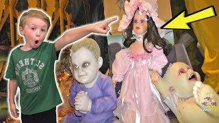 The Secret DollMaker Doll Moved!