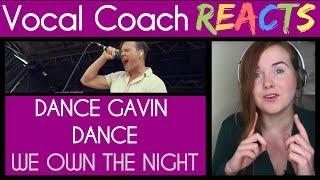 """Vocal Coach reacts to Dance Gavin Dance - """"We Own The Night"""" LIVE! @ Warped Tour 2017"""