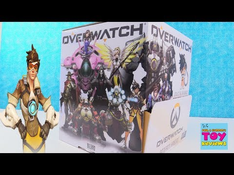 Overwatch Backpack Hangers Series 1 Blind Bag Clips Full Set Unboxing   PSToyReviews