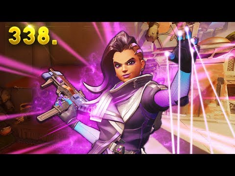 SOMBRA BTW..   Overwatch Daily Moments Ep. 338 (Funny and Random Moments)