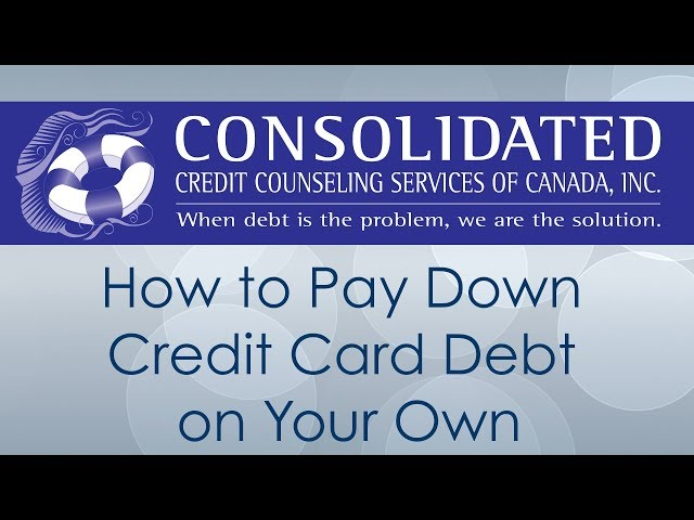 How to Pay Down Credit Card Debt on Your Own