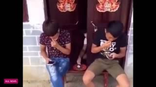 Chết cười thanh niên tàu khựa nghịch ngu