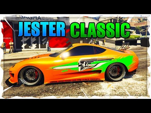GTA ONLINE AFTER HOURS UPDATE DLC- NEW JESTER CLASSIC DLC CAR GAMEPLAY & CUSTOMIZATION!