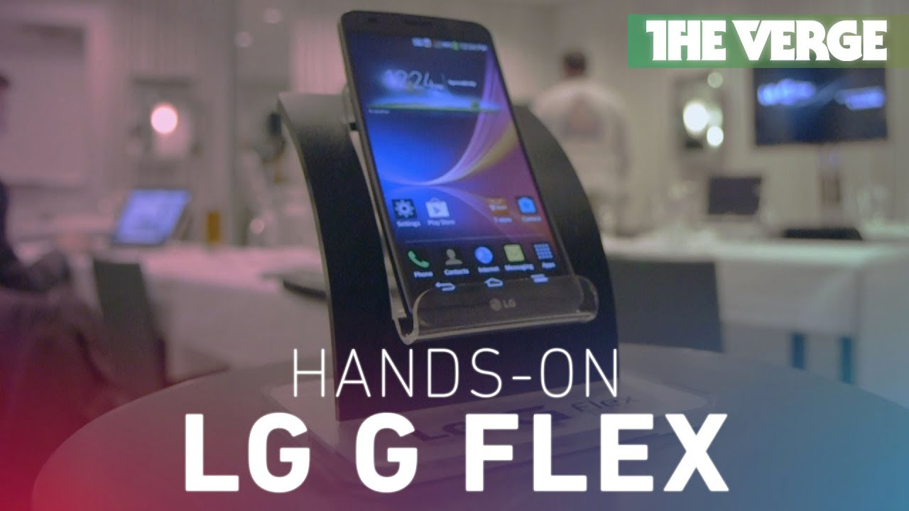 LG G Flex hands-on preview thumbnail