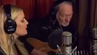 Jessica Simpson & Willie Nelson - Away in a manger
