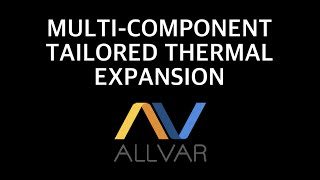 Calculating Thermal Expansion Part 2 – Tailored Expansion with Multi-Components