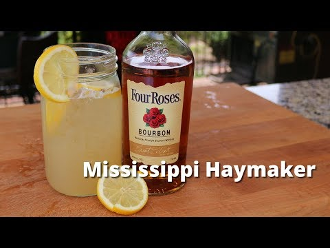 Mississippi Haymaker Bourbon Cocktail | Bourbon Drink Recipe