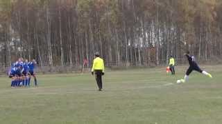 preview picture of video 'MKS Orzeł Kleszczele - KS Błyskawica Dubicze Cerkiewne 7:0 (bramka na 1:0)'