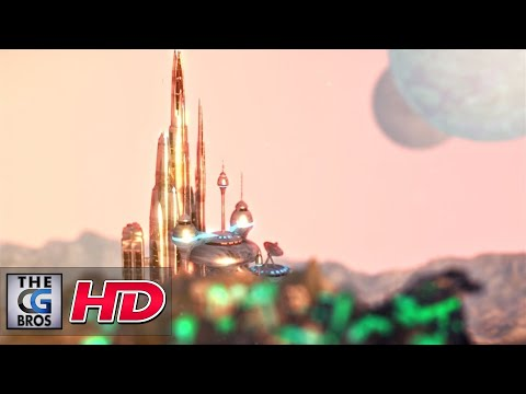 """CGI 3D Animated Short Intro: """"The Valley"""" – by Jose Martinez"""