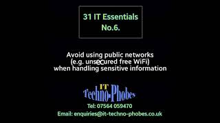 IT Techno-Phobes Limited Tip 6 – IT Support Services In Stourbridge