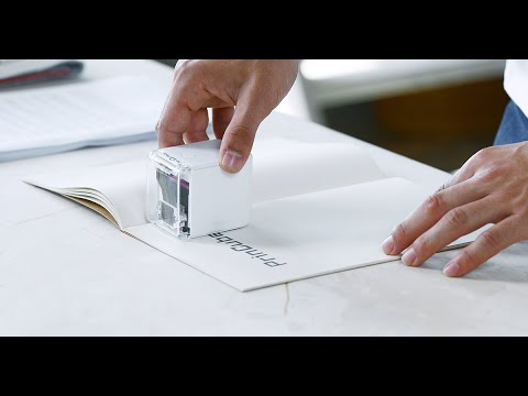 PrinCube-The World's Smallest Mobile Color Printer-GadgetAny