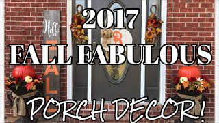 HOW TO DECORATE FOR THE FALL 2017