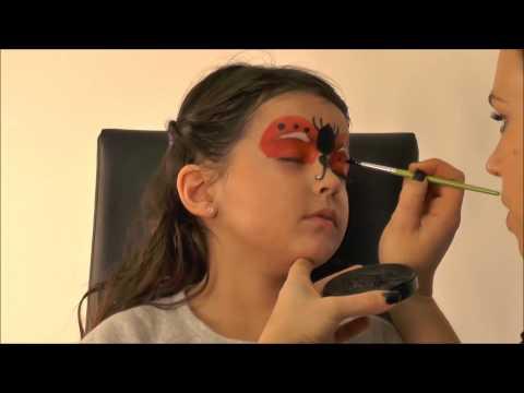 Tutorial maquilhagem de joaninha