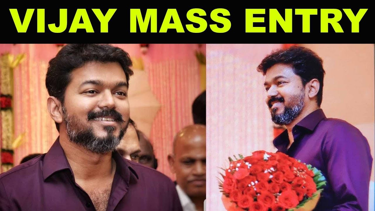 Vijays New Getup | #Vijay Mass Entry in Marriage Function | #VijayViralVideo #Vijay63 #Thalapathy63