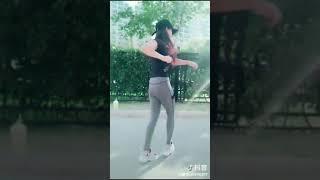 Beautiful Chinese girl, dancing to show 411