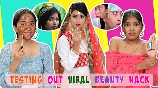 Testing Out Viral LIFE & Beauty HACKS | Anaysa - Download this Video in MP3, M4A, WEBM, MP4, 3GP