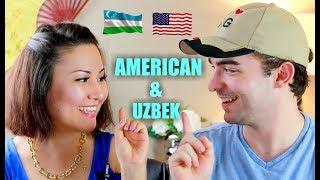 AMERICAN TRIES TO SPEAK UZBEK | CHALLENGE | American vs Uzbek ~Fun Time~