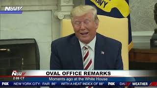 OVAL OFFICE REMARKS: Trump on recession, 2nd amendment rights