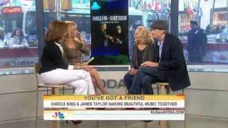 Today Show - James Taylor and Carole King 2010