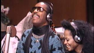 Diana Ross and Stevie Wonder - We Are The World Solo