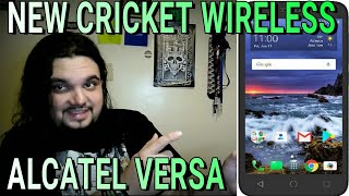 NEW Cricket Wireless Alcatel Verso Coming Jan 14th Ultra Budget Phone Review Of Specs 2018