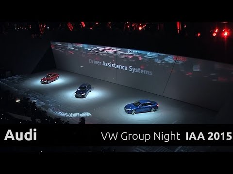 Audi A4 & e-tron - Präsentation auf der VW Group Night IAA 2015