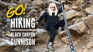 Hiking Black Canyon of the Gunnison National Park