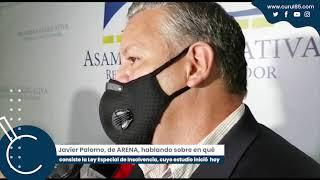 Informativo Javier Palomo habla de la Ley Especial de Insolvencia
