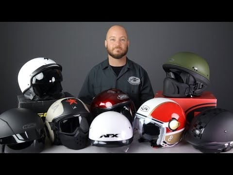 2014 Helmet Buying Guide for Cruising from Jafrum.com