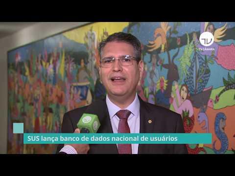 """SUS lança banco de dados nacional de usuários """"Conecte SUS"""" - 12/11/19"""