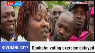 Frustrated voter complains over delay of exercise in Donholm