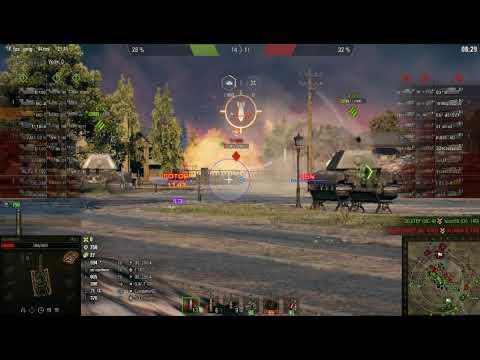 WorldOfTanks 2019, Орловский выступ, Генеральное сражение, бой на ИС 7